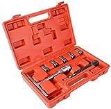 Escariador para asiento de inyectores 8 piezas. limpiar y descarbonizar inyectores