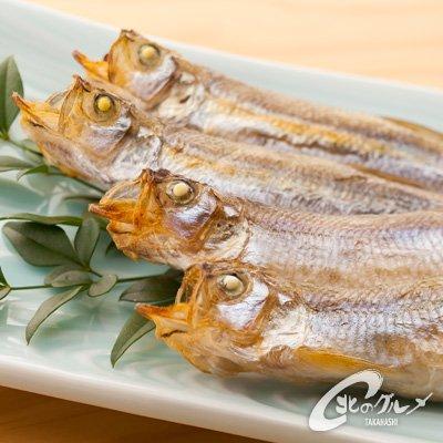 【海鮮市場 北のグルメ】ししゃも ・ 柳葉魚 オス20尾(ジャンボサイズ) 北海道産 鵡川干し シシャモ