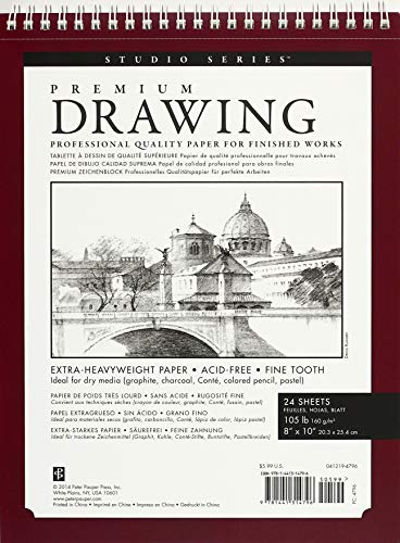 Premium Drawing Pad 8   X 10   (Sketchbook, Sketch book) (Studio)