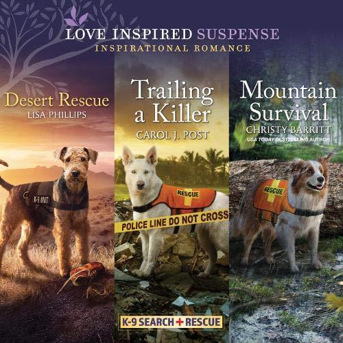 『Desert Rescue & Trailing a Killer & Mountain Survival』のカバーアート