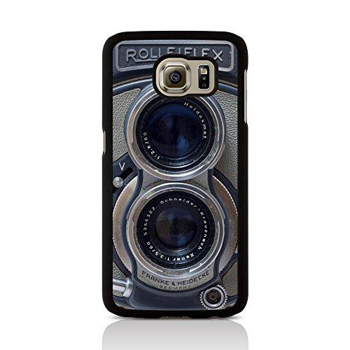 Call Candy Diseño Retro de Vieja Escuela Rolleiflex cámara Image Carcasa rígida para Samsung Galaxy S6