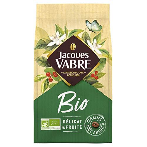 Jacques Vabre Café Grains Bio 2,4 kg (6 packs de 400g)