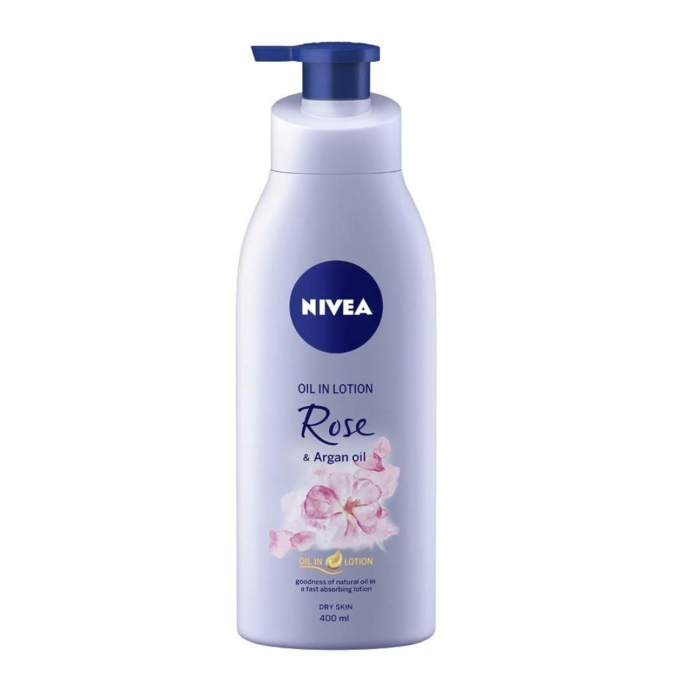 委員会行き当たりばったりにやにやNIVEA Oil in Lotion, Rose and Argan Oil, 400ml