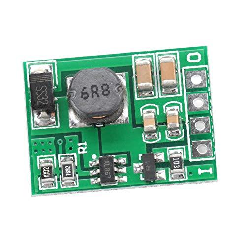 Módulo regulador de refuerzo de voltaje DC-DC 2.6-5.5V a 5V / 6V / 9V / 12V Fuente de alimentación elevadora para encendido/apagado(6V)
