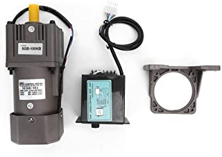 YELLAYBY Fase Paso a Paso Moto Reducción Motor Ajuste Continuo de Velocidad, M560-502 60W 4 Polos Reversible reducción de la Velocidad del Motor de Engranajes del Motor 220VAC (100K)