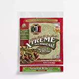 Ole Xtreme Wellness Spinach & Herbs Flour Tortilla Wraps | 8' Size | 8 Count Each Pack | 4 Pack Case // Healthy Life Style.
