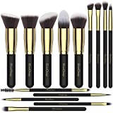 EmaxDesign Makeup Brushes 14 Pieces Professional Makeup Brush Set Synthetic Foundation Ble...