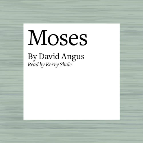 Moses audiobook cover art