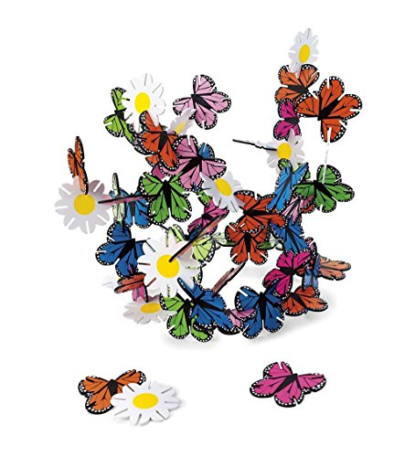 Butterflies And Flowers Connectagons 62 Piece Wooden 3d Interlocking Toys Building Play Set Buy Online In Cayman Islands At Cayman Desertcart Com Productid 7666472