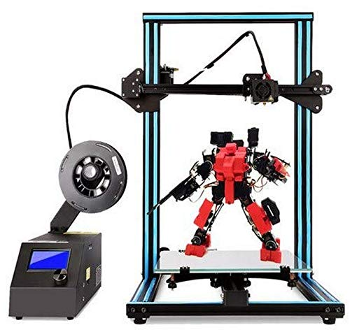 SAFGH 3D Printer A10S DIY Desktop 3D Printer High-Precision and Fast Printing of 3D Models (200mm / s) Printer with 1.75mm ABS/PLA 3D Printer Filament,Print Size:300X300X 400mm