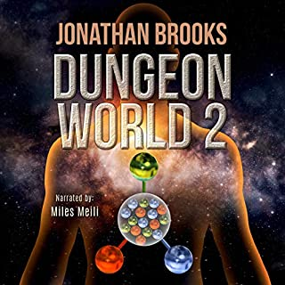 Dungeon World 2: A Dungeon Core Experience audiobook cover art