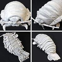 深海生物シリーズダイオウグソクムシ ぬいぐるみL グレー 7412