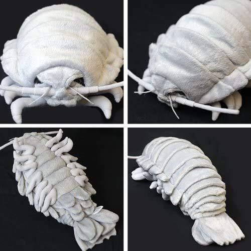 TSTADVANCE Sea Creature Giant Isopod Realistic Stuffed Plush Doll (L Size) / 30 cm