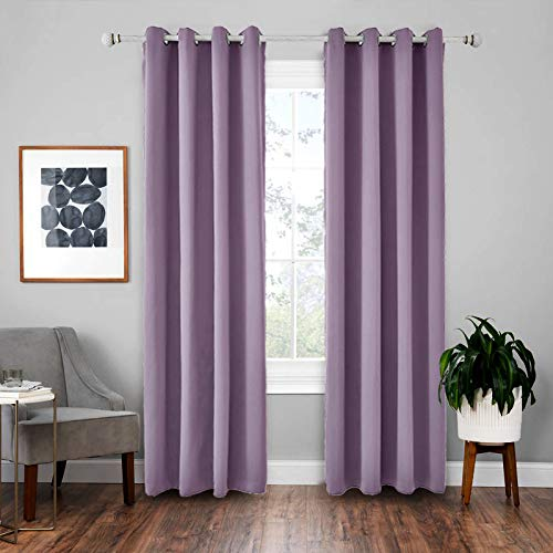 BOLO Pencil pleated blackout curtains, thermal tape top title panel, 140x175cm