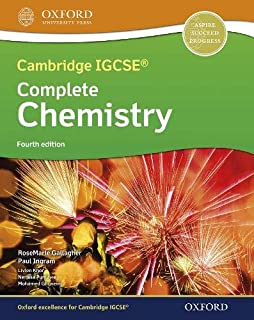 Cambridge IGCSE® & O Level Complete Chemistry: Student Book Fourth Edition