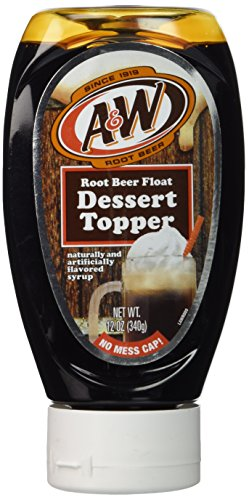 A&W Root Beer Float Dessert Topper
