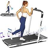 Treadmill,Under Desk Folding Treadmills for Home,2-in-1 Running, Walking&Jogging...