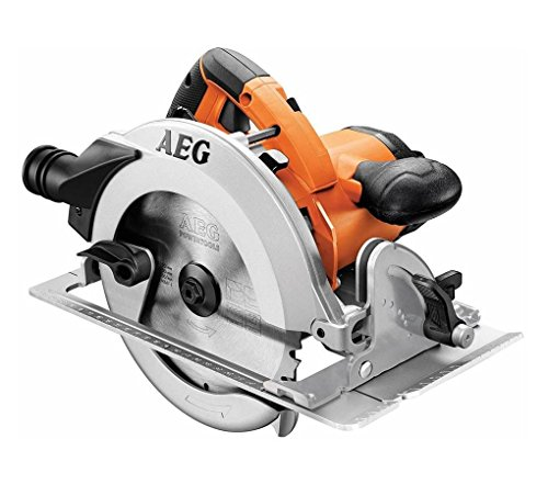 AEG KS 66-2 Sierra Circular 185mm-1200w MAX Corte 61mm, 1600 W, naranja