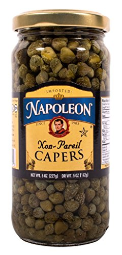 Napoleon Nonpareil Capers, 8 Ounce