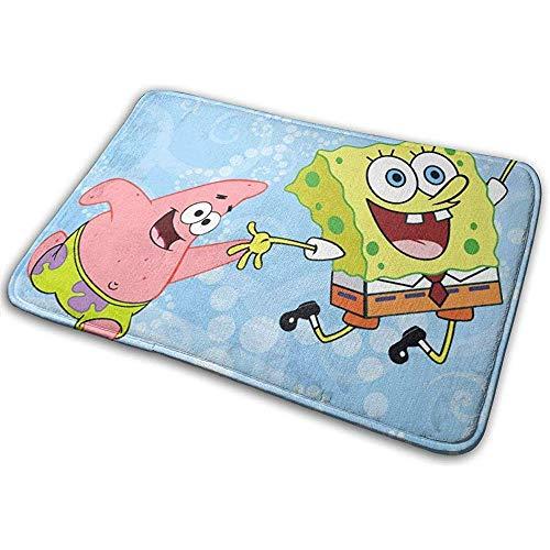 Liumt deurmat van Benvenuto antislip Spongebob en Patrick binneningang mat voor schoenen, 40 x 60 cm