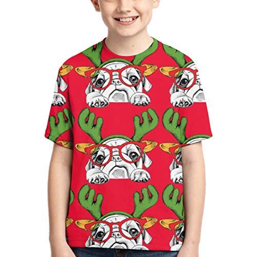 Camisetas para niños Bufanda para Perros Grandes Navidad FEA Ropa para niños...
