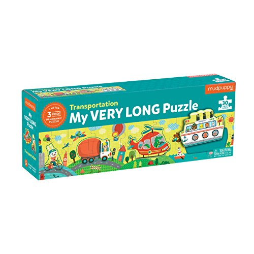 My Very Long Transportation Puzzle: 30 Piece Puzzle