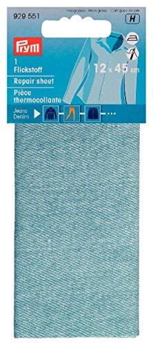 PRYM Flickstoff Jeans, 12 x 45 cm, hellblau