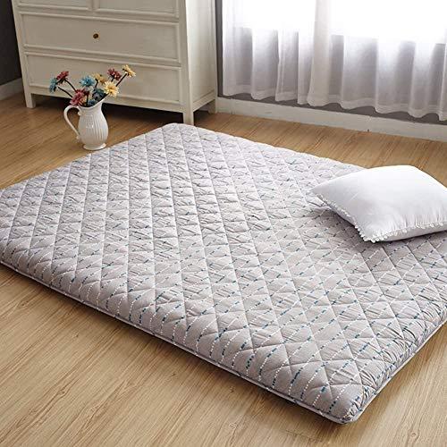 ZXYY veel dikke tatami-vloermat inklapbare futon-matrasoplegger traditioneel Japans futon-bed voor Japanse verzorging rug gemakkelijk te dragen33-C 90x200cm (35x79inch)