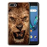 Stuff4 Phone Case for Wiko Tommy 3 Wildlife Animals Lion