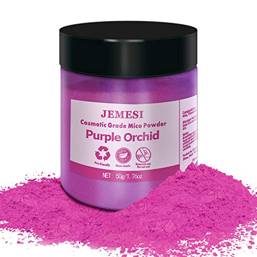 JEMESI Pigmentos para Resina Epoxi, 50g Pigmentos en Polvo,