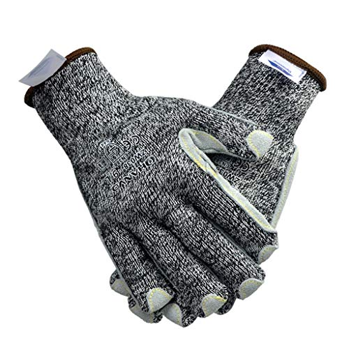 LICCC Handschuhe Arbeitsschutzhandschuhe mit Schnittschutz und Stichschutz, bequem und flexibel
