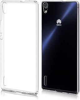 202e14588cf Funda Carcasa Gel Transparente para HUAWEI ASCEND P7 Ultra Fina 0,33mm,  Silicona TPU