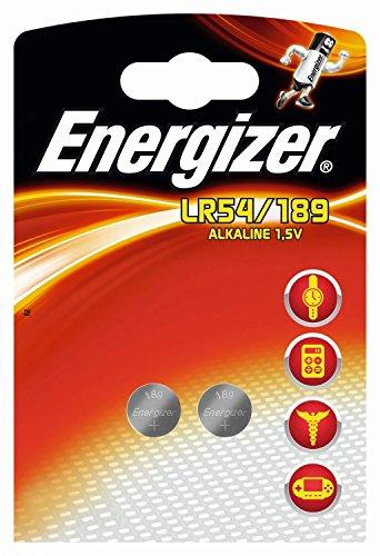 Energizer Knopfzelle LR54 189 Inh.2 Stück Knopfzel. LR54189