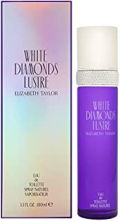 ELIZABETH TAYLOR White Diamonds Luster Eau De Toilette Spray, 3.3 Ounce
