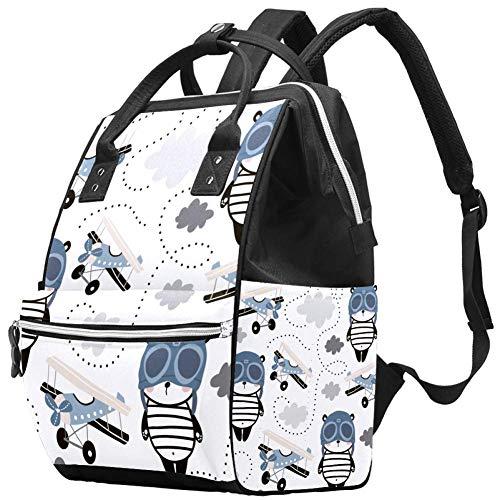Wickeltaschen-Organizer, isolierter, wasserdichter Reise-Windelrucksack, große Kapazität, Schultertasche für Mama-Rucksack, multifunktional, langlebig und stilvoll, niedlicher Panda-Ballerinas