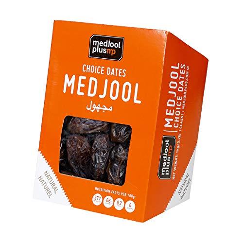 1 kg Natürliche Medjool Datteln Supreme groß, frisch, im Karton verpackt