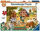 Ravensburger 44 Gatti A Puzzle, Pavimento, 24 Pezzi, 03015...