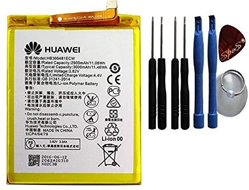 Akku für Huawei P10 Lite, P9, P9 Lite,Honor 8, P20 Lite Ersatzakku Batterie Ersatzakku Li-Ion mit 3000mAh / Werkzeug-Set
