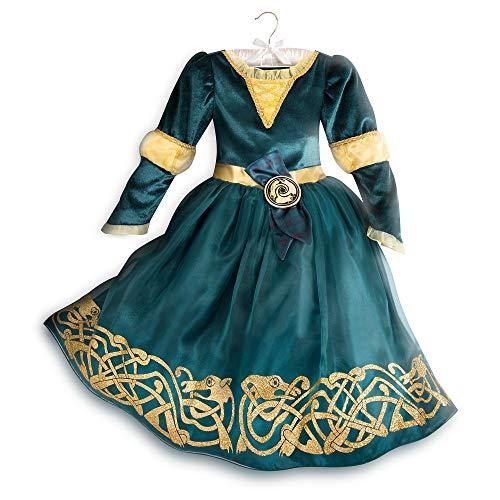 Disney Merida Disfraz para Niños - Brave Talla 5/6 Multi