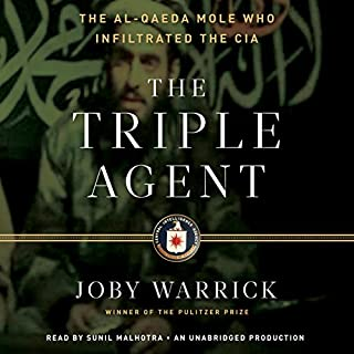 The Triple Agent audiobook cover art