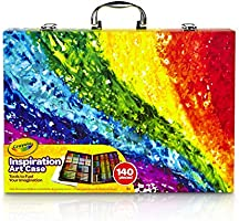 CRAYOLA 230926 Inspiration Art Case: 140 Pieces, Deluxe Set with Crayons, Pencils, Markers and Paper in a Portable...