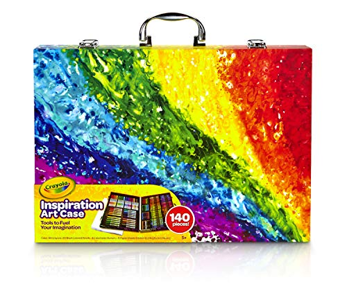 140-Piece Crayola Rainbow Inspiration Art Set w/ Case $15 + Free Shipping w/ Prime or $25+
