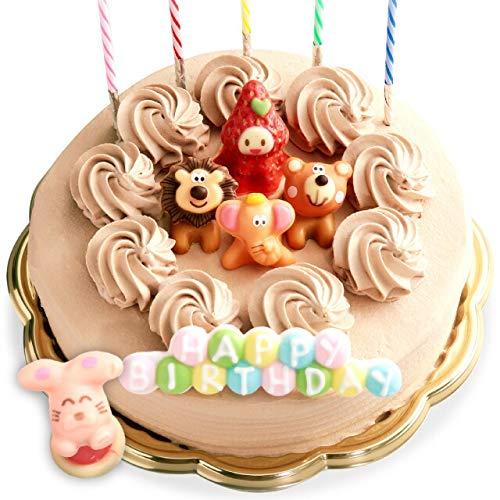 誕生日ケーキ バースデーケーキ 生チョコクリーム デコレーションケーキ 6号 [凍] 誕生日 ケーキ チョコ チョコレート飾り