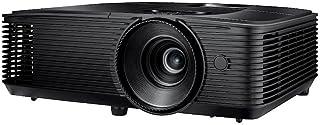 Optoma H116 DLP Projektor (WXGA, 3800 Lumen; 30.000:1 Kontrast, 1x HDMI, 1x VGA; 1x Composite) Schwarz