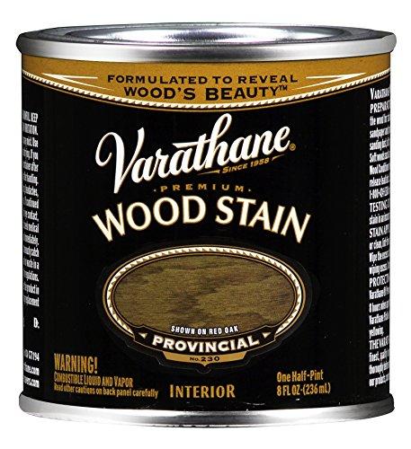 Varathane 211794 Premium Wood Stain, Half Pint, Provincial