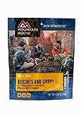 Galletas y salsa de la casa de montaña | Mochilero liofilizado y comida de camping