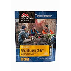 Mountain House Biscuits & Gravy | Freeze Dried Backpacking...
