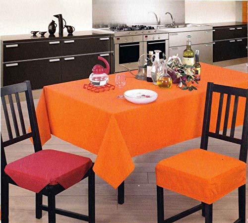 Casatessile Panama PLASTIFICADO Mantel Varios tamaños - Beige, Redonda 160 cm.