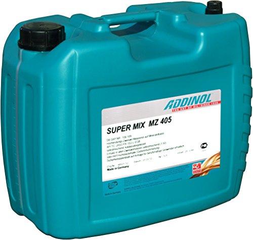 ADDINOL MZ405 SUPER MIX, 2-Takt-Motorenöl, rot gefärbt, mineralisch, 20 L Kanister