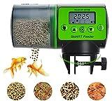 Podazz Distributeur automatique de nourriture pour aquarium résistant à l'humidité